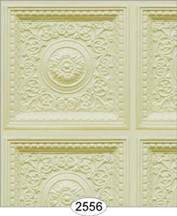 Dollhouse Ceiling Wallpaper: 6 SHEETS Dollhouse Miniature Wallpaper Ceiling Wall Panel