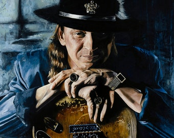 Stevie Ray Vaughan Print