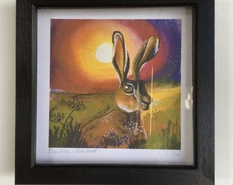 Framed giclee print - limited edition of 10