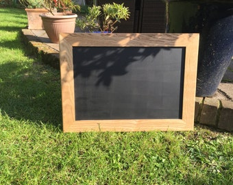 solid ash framed blackboard