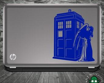 Angel-TARDIS Decal