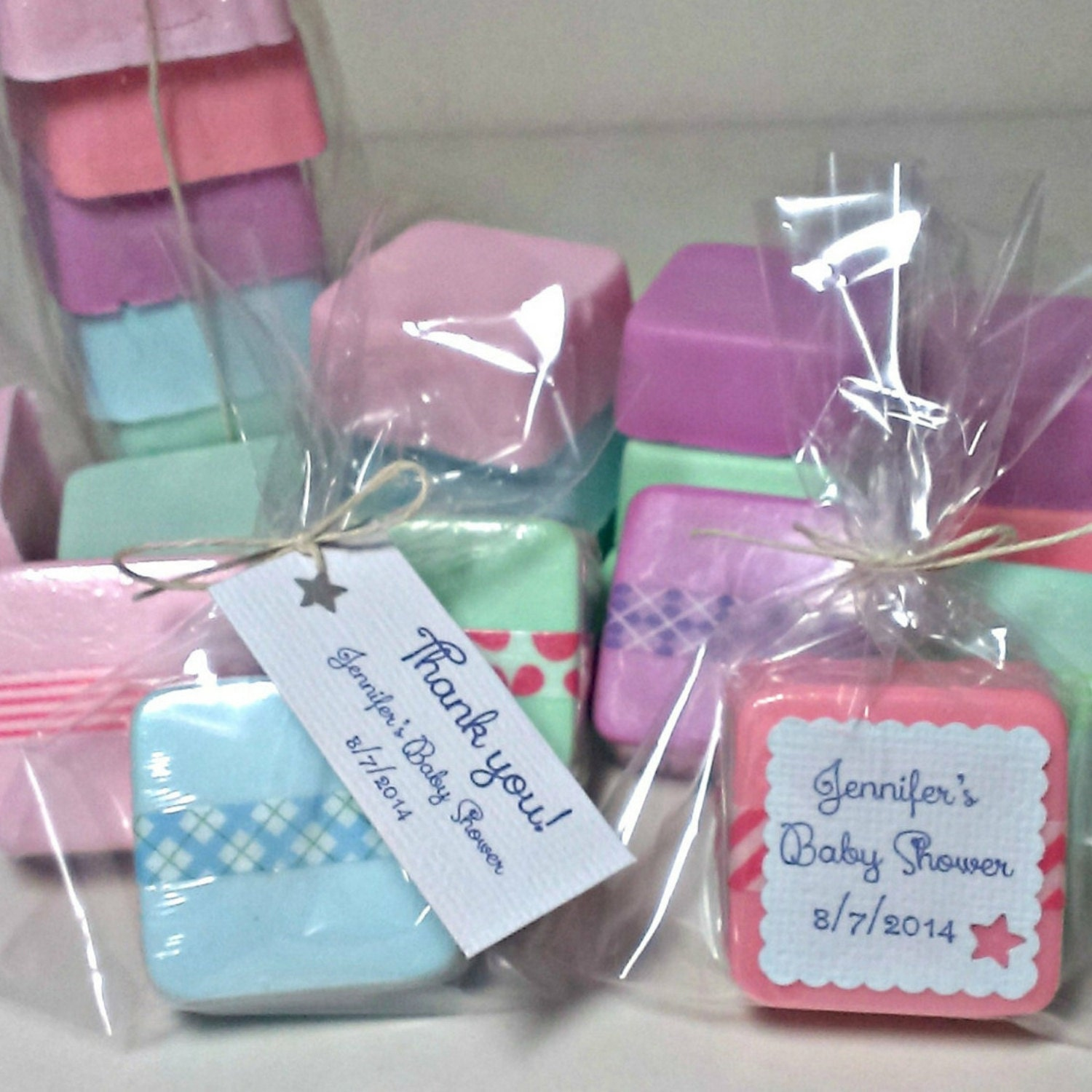 baby shower favors 36 baby boy baby girl unique custom