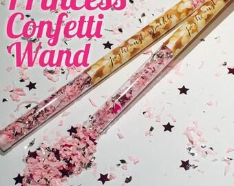 Set of 10 - Princess Confetti Wand