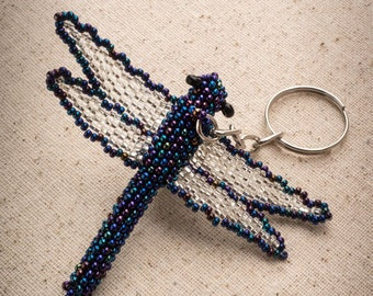 Firefly Keychain, Beaded