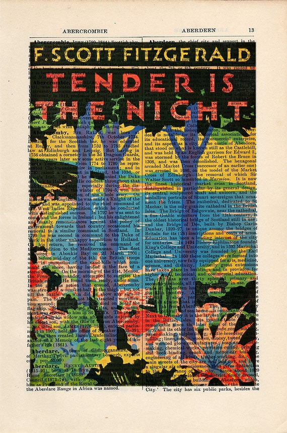 essays on tender is the night Read preview academic journal article essays in literature  it is a  commonplace of scott fitzgerald criticism that tender is the night (1934, rev.