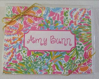 Lilly Pulitzer Personalized Note Cards