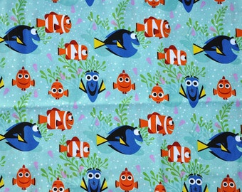 CUSTOM BOYS BOXERS, Made to Order, Finding Dory, Disney Movie, Blue and Orange Fish, Choose Size