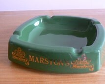 Great Marston's Brewery Ashtray - Brewing Excellence' - by Goldprint of Stafforshire UK.