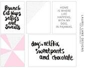 Brunch | Digital Project Life Journaling Cards