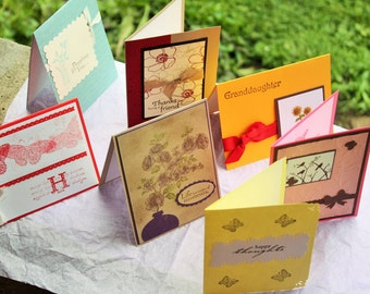 Handmade  For Any Occasion Cards