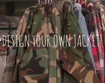 Design Your Own Army Jacket!