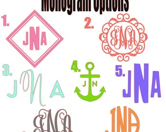 Color Monogram