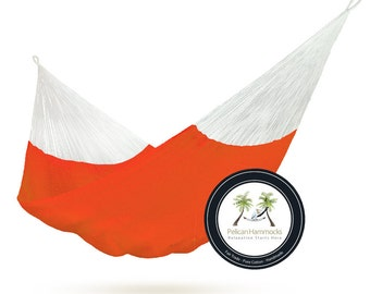 Red Hammock - 100% Hand Woven - Pelican Hammocks
