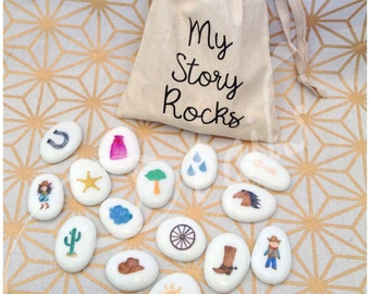 Story Stones - Western Collection