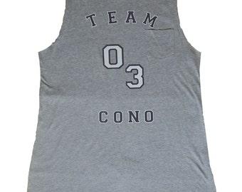 """Tank top oversize Cono Dalessio """"Team Cono"""" Collection - varsity"""