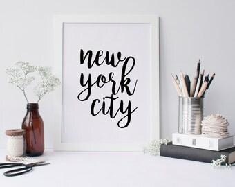 50% OFF.Frame Print,Kitchen Decor,Apartment Decor,Bathroom Decor,Home Decor,Printable Wall Art Quotes,Instant Download,New York City