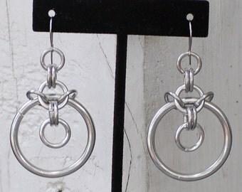 Janet Chainmail earrings