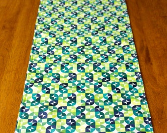 Table Runner Green/Teal