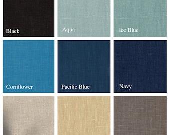 10oz Linen Color Options