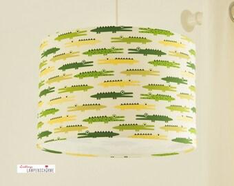 Lampshade crocodiles