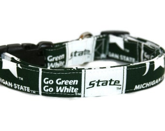 Michigan State Dog Collar