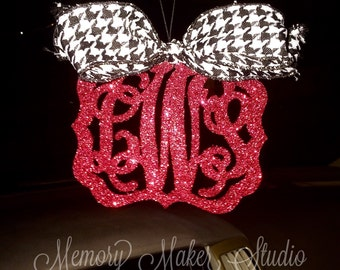 ON SALE!Rear view mirror charm, Rearview mirror Monogram, Rearview mirror accessories, Rearview mirror accessories, rearview mirror ornament