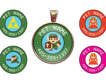 Legend of Zelda Custom Pet ID Tags
