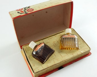 1977 Soviet Russia GIFT FROM LVIV Russian Perfume set in Box
