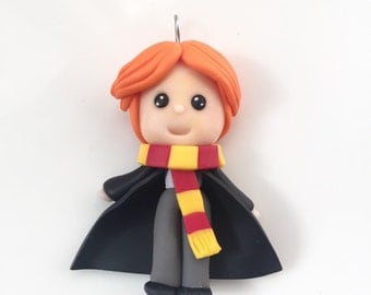 SALE!!! Ron Weasley Polymer Clay Necklace