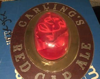 Vintage Carling's Red Cap Ale Sign