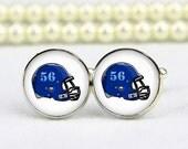 football helmet cufflinks, American football, custom number, custom any text, photo, personalized cufflinks, custom wedding cufflinks, groom