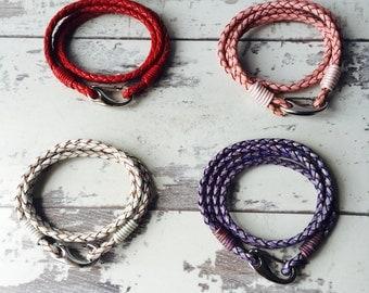 Small Leather Bracelets