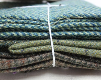 100gm Tweed bundles for arts & crafts projects