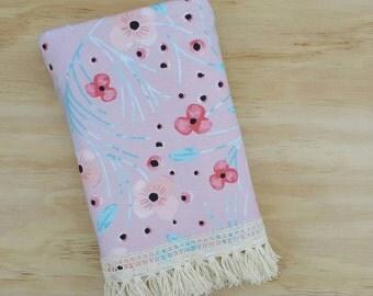 Summer Floral Fringe Blanket
