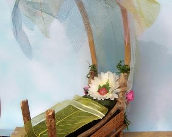 Sheer Leaf Fairy Bed