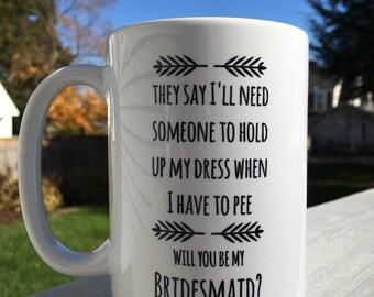 Bridesmaid gift   will you be my bridesmaid?   bridal party gift   bridesmaid   maid of honor   matron of honor