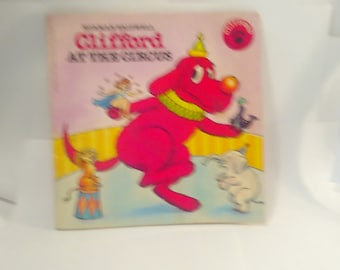 Vintage Children's Book Clifford at the Circus