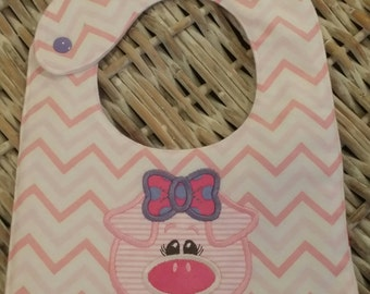 "Baby Bib ""I'm a lil' Piggy!"""