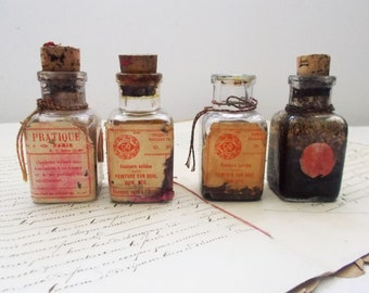 Very Old French Ink Bottles