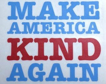 Make America Kind Again decal. | Car Decal | Laptop Decal | Phone Decal |Yeti Decal | Mug Decal | Wine Glass Decal | Tumbler Decal