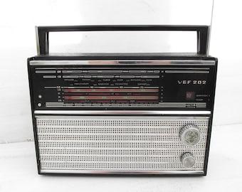 Soviet Vintage Radio VEF - 202\  Soviet Retro Radio\ made in USSR