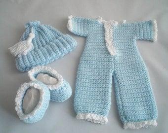Free Crochet Pattern Baby Reindeer Hat : One piece slipper Etsy