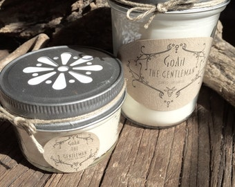 The Gentleman Soy Candle
