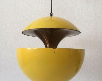 Mid Century Modern PENDANT LAMP Hanging Light 'SPRINGFONTAINE' by Bertrand Balas for Raak, Amsterdam | 1970s