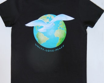 Peace on Earth T-shirt - Ladies