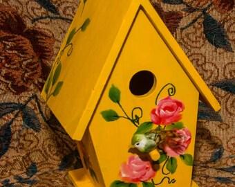 Handpainted Birdhouse 2
