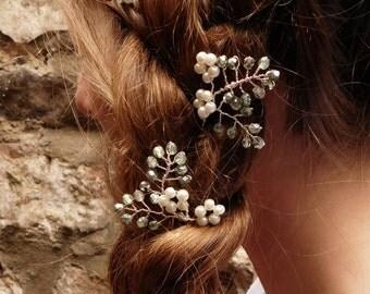 Lauren Hair Pins - Set of 1, 3 or 5 pins