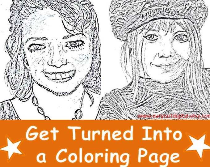Become a Coloing Page!