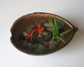 Handmade miniature koi ponds by paradiseponds on etsy for Artificial koi fish for ponds