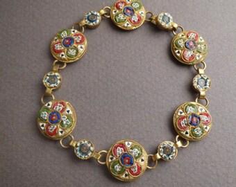 Micro Mosaic bracelet